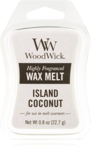 Woodwick Island Coconut tartelette en cire 22,7 g