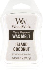 Woodwick Island Coconut cera per lampada aromatica 22,7 g