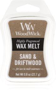 Woodwick Sand & Driftwood Wachs für Aromalampen 22,7 g