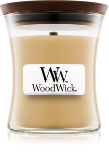 Woodwick At The Beach vela perfumada com pavio de madeira