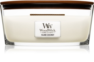 Woodwick Island Coconut Scented Candle 453,6 g Wooden Wick (Hearthwick)