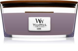 Woodwick Lilac lumânare parfumată  453,6 g cu fitil din lemn (Hearthwick)
