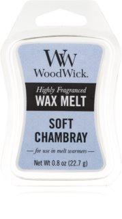 Woodwick Soft Chambray cera para lámparas aromáticas 22,7 g
