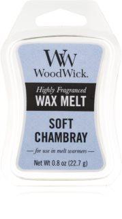 Woodwick Soft Chambray восък за арома-лампа  22,7 гр.