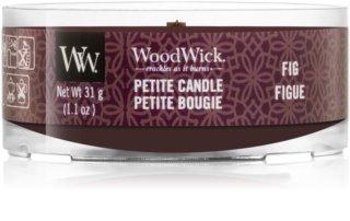 Woodwick Fig votívna sviečka s dreveným knotom 31 g