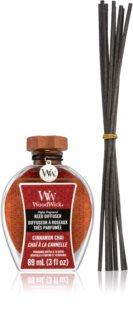 Woodwick Cinnamon Chai diffuseur d'huiles essentielles avec recharge