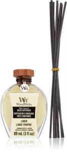 Woodwick Linen dyfuzor zapachowy z napełnieniem