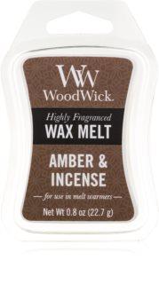 Woodwick Amber & Incense ceară pentru aromatizator 22,7 g