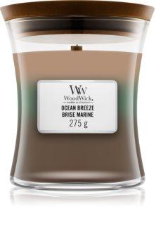 Woodwick Trilogy Ocean Breeze bougie parfumée avec mèche en bois 275 g