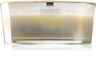 Woodwick Floral Night Smoked Jasmine vela perfumada com pavio de madeira (hearthwick)