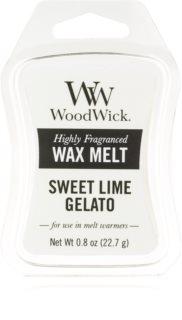 Woodwick Sweet Lime Gelato віск для аромалампи 22,7 гр