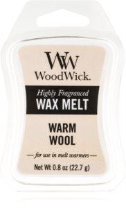 Woodwick Warm Wool восък за арома-лампа  22,7 гр.