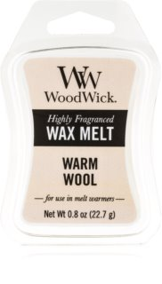 Woodwick Warm Wool κερί για αρωματική λάμπα 22,7 γρ