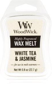 Woodwick White Tea & Jasmine wachs für aromalampen