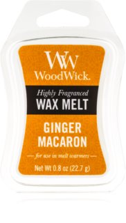 Woodwick Ginger Macaron cera derretida aromatizante 22,7 g