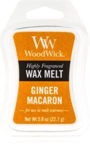 Woodwick Ginger Macaron восък за арома-лампа  22,7 гр.