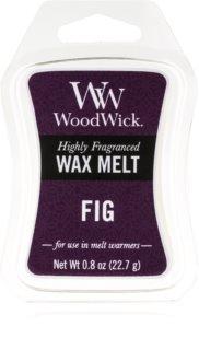 Woodwick Fig tartelette en cire
