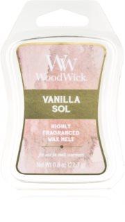 Woodwick Vanilla Sol Wachs für Aromalampen 22,7 g Artisan