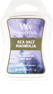 Woodwick Sea Salt Magnolia Duftwachs für Aromalampe 22,7 g Artisan