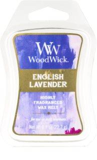 Woodwick English Lavender κερί για αρωματική λάμπα 22,7 γρ Artisan
