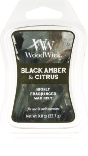 Woodwick Black Amber & Citrus віск для аромалампи 22,7 гр Artisan