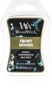 Woodwick Ebony Woods ceară pentru aromatizator Artisan