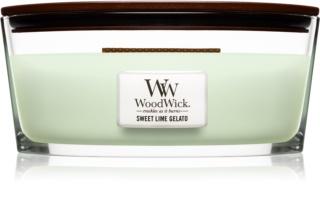 Woodwick Sweet Lime Gelato świeczka zapachowa  453,6 g Hearthwick