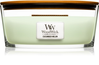 Woodwick Cucumber Melon vela perfumada  453,6 g Hearthwick