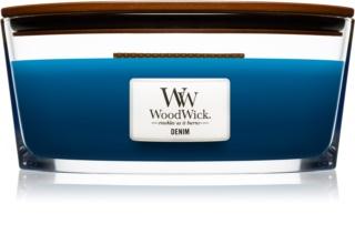 Woodwick Denim świeczka zapachowa  453,6 g Hearthwick