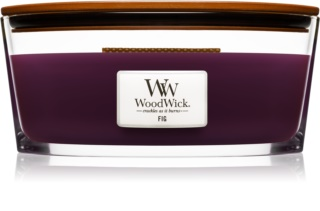 Woodwick Fig Scented Candle 453,6 g Wooden Wick (Hearthwick)