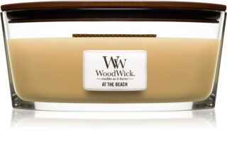 Woodwick At The Beach Geurkaars 453,6 gr met een houten lont (Hearthwick)