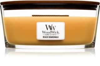 Woodwick Beach Boardwalk vonná svíčka 453,6 g Hearthwick