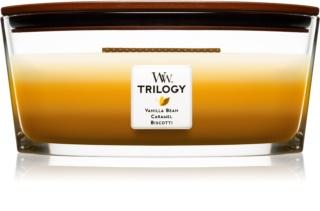 Woodwick Trilogy Café Sweets bougie parfumée 453,6 g Hearthwick