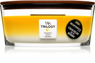Woodwick Trilogy Fruits of Summer Scented Candle 453,6 g Wooden Wick (Hearthwick)