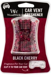 Woodwick Black Cherry Désodorisant voiture   clip