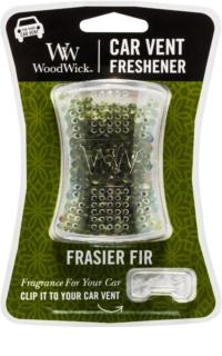 Woodwick Frasier Fir ambientador auto   clip