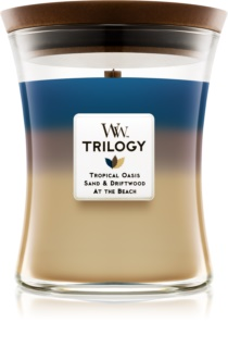 Woodwick Trilogy Nautical Escape Duftkerze  275 g mittlere