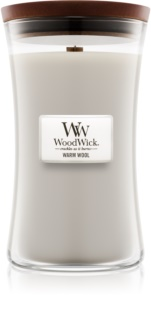 Woodwick Warm Wool vonná sviečka 609,5 g veľká