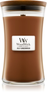 Woodwick Jolly Gingerbread Scented Candle 609,5 g Large