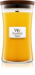 Woodwick Pineapple bougie parfumée 609,5 g grande