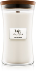 Woodwick Baby Powder Geurkaars 609,5 gr Groot