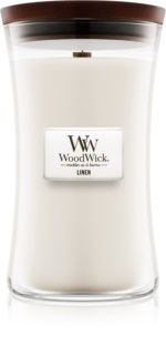 Woodwick Linen Scented Candle 609,5 g Large