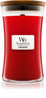 Woodwick Pomegranate Scented Candle 609,5 g Large