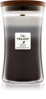 Woodwick Trilogy Warm Woods Geurkaars 609,5 gr Groot