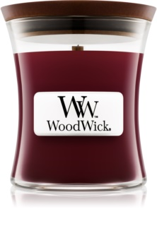 Woodwick Black Cherry Scented Candle 85 g Wooden Wick