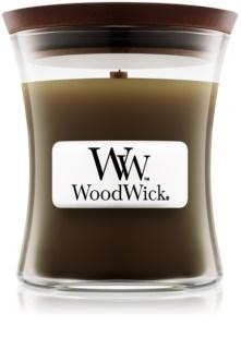 Woodwick Oudwood duftkerze  mit Holzdocht 85 g