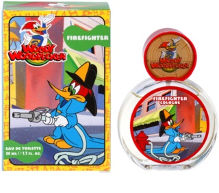 Woody Woodpecker Firefighter eau de toilette pour enfant 50 ml