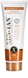 Xen-Tan Dark leite autobronzeador para corpo e rosto com libertação gradual para rosto e corpo com um efeito prolongado