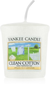 Yankee Candle Clean Cotton votivna sveča 49 g