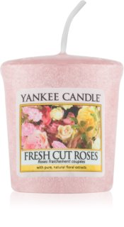 Yankee Candle Fresh Cut Roses вотивна свещ 49 гр.